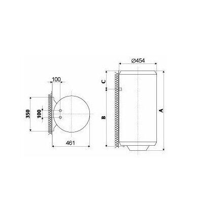 Vandens šildytuvas Gorenje TGR 200 L N 2