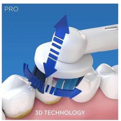 Elektrinis dantų šepetėlis Oral-B Pro 2 2500 3