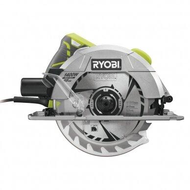 Elektrinis diskinis pjūklas Ryobi RCS1400-G, 1400W, 190mm