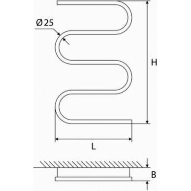 Elektrinis gyvatukas Elonika EE 400 S4K/S4KD 3