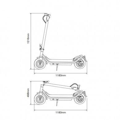 Elektrinis paspirtukas Ducati Scrambler City Cross E 4