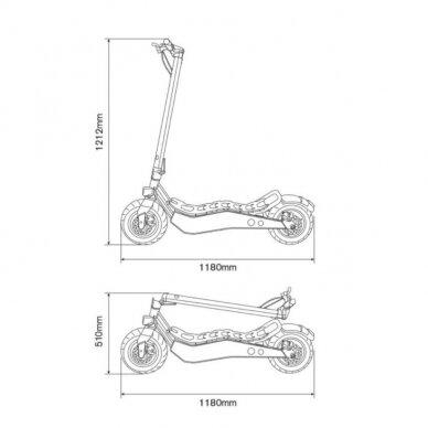 Elektrinis paspirtukas Ducati Scrambler Cross E 5