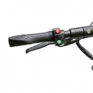 Elektrinis paspirtukas Joyor Y10 Black (iki 120kg, 500W, iki 35km/h) 6
