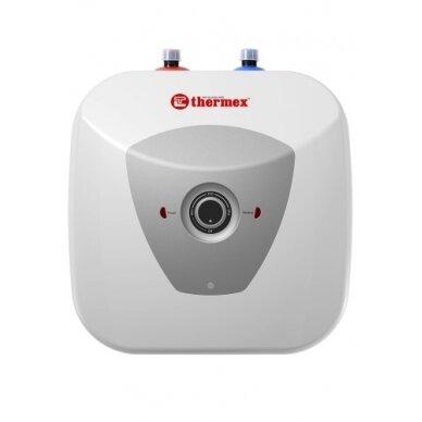 Elektrinis vandens šildytuvas Thermex H 15-U PRO mažas, 1,5 kW