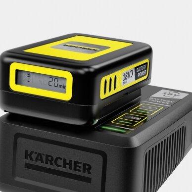 Fast Charger Battery Power 18V Kärcher 2