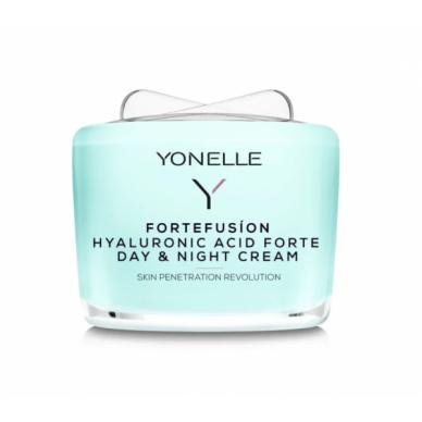Drėkinamasis veido kremas Yonelle Fortefusion Hyaluronic Acid Forte Day & Night Cream 55ml