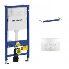 Geberit DuoFix Basic potinkinis WC rėmas 3in1