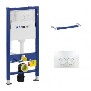 Geberit DuoFix Basic potinkinis WC rėmas 3in1