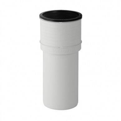 Tiesi prietaisinė mova pakabininamam WC Geberit Silent-PP d110