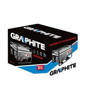 Generatorius Graphite 58G903 + starterio akumuliatorius 6