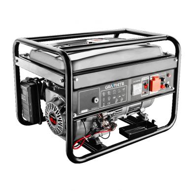 Generatorius Graphite 58G903 + starterio akumuliatorius 2