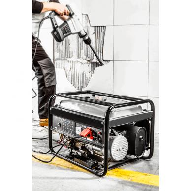 Generatorius Graphite 58G903 + starterio akumuliatorius 5