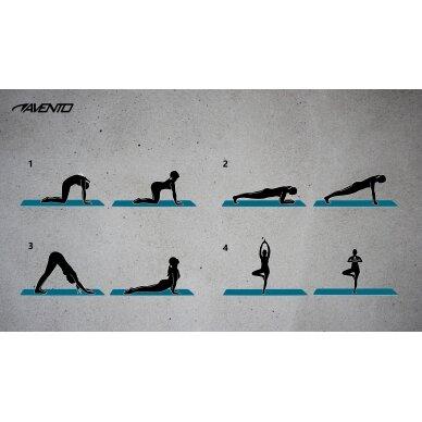 Gimnastikos kilimėlis AVENTO 42MC 180x60x0,6 cm 4