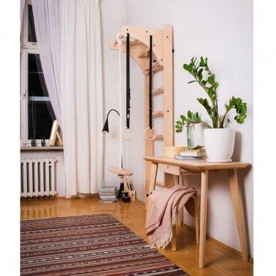 Gimnastikos sienelė su aksesuarais BenchK 112 220x67cm 6
