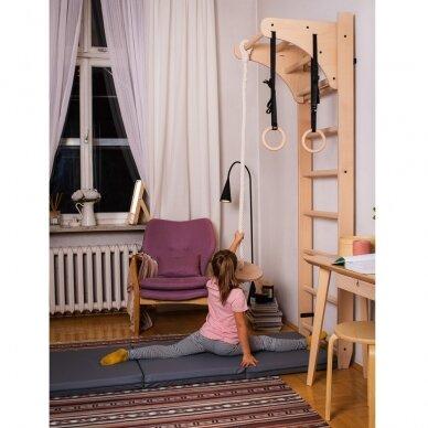 Gimnastikos sienelė su aksesuarais BenchK 112 220x67cm 9
