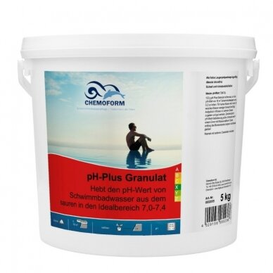 Granulės PH plus Chemoform AG, 5 kg
