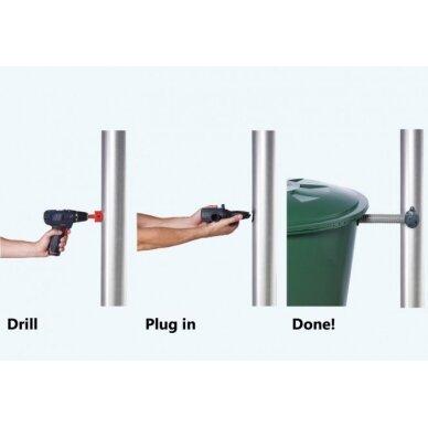 Greitai montuojamas filtras lietaus surinkimo rezervuarams Rapid 3