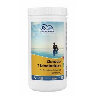 Greitai tirpstančios chloro tabletės Chemoform AG po 20 g, 1 kg