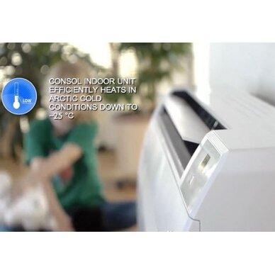 Grindinis oro kondincionierius - šilumos siurblys Consol Inverte 4