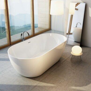 Grindinis vonios maišytuvas Ravak 4