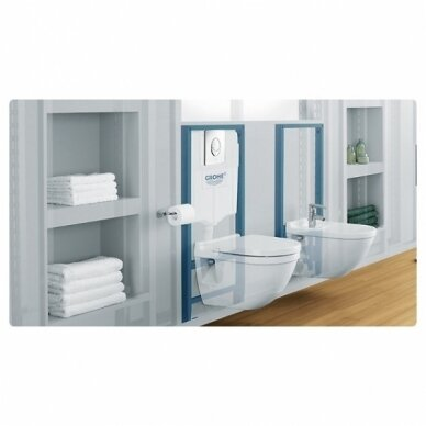 Grohe potinkinis WC rėmas Rapid SL 4in1 5