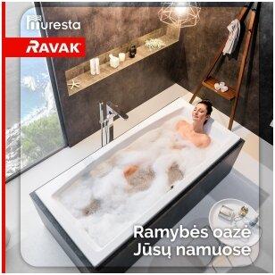 Gyvenimo garantija Ravak vonioms