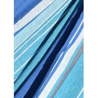 Hamakas Cattara Textil – mėlynas-baltas 200 x 100 cm 2