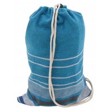 Hamakas Cattara Textil – mėlynas-baltas 200 x 100 cm 5