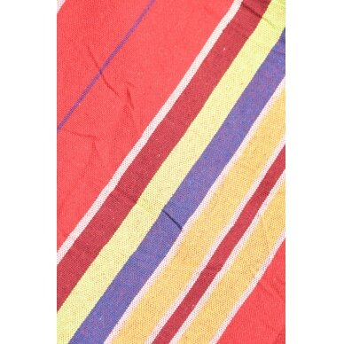 Hamakas Cattara Textil – raudonas-geltonas 200 x 100 cm 2