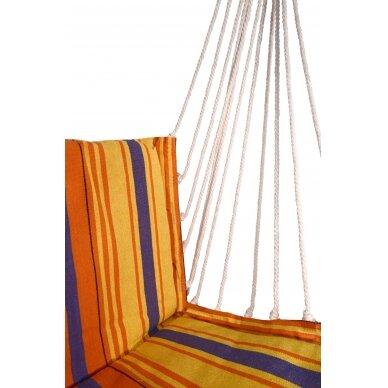 Hamakas-kėdė Cattara – raudona-oranžinė  95 x 50 cm 3