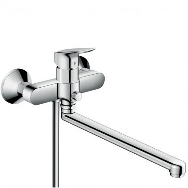 Maišytuvas voniai – dušui Hansgrohe Logis su ilgu snapu