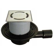 HL510NPr-3000 su sifonu PRIMUS ir nerūdijančio plieno porėmiu