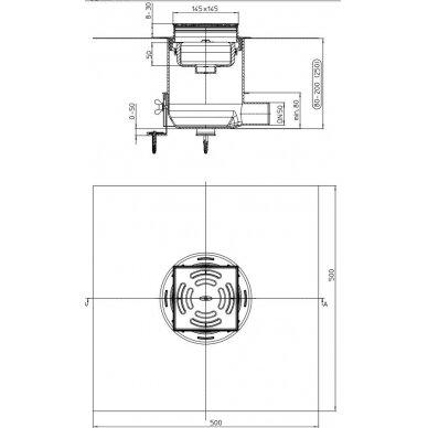 Dušo trapas HL540 Primus – Drain 3