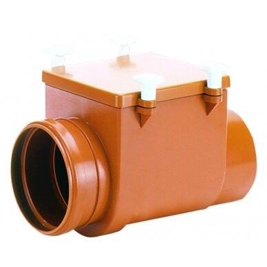 Kanalizacijos atbulinis vožtuvas HL720 su nerūdijančio plieno užsklanda