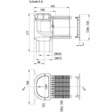 Alsuoklis HL905 potinkiniam montavimui 2