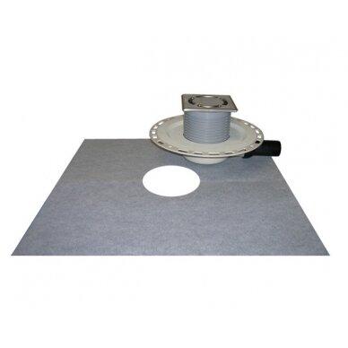 Trapas vidaus patalpoms HL90PrD-3000 kaip ir HL90PrD, tik su nerūdijančio plieno porėmiu