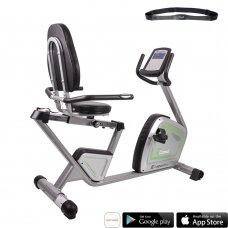 Horizontalus dviratis treniruoklis inSPORTline inCondi R60i (iki 150kg, smagr. 9kg)