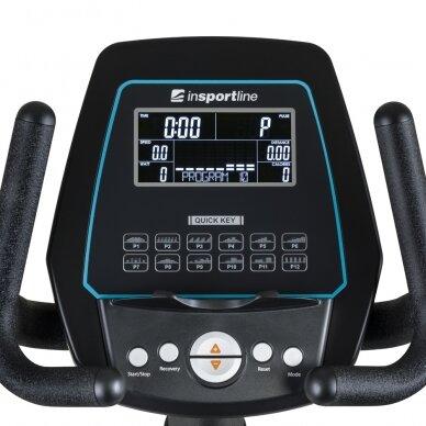 Horizontalus dviratis treniruoklis inSPORTline Halimed PRO (iki 130kg, smagr. 9kg) 4