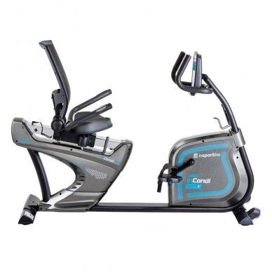 Horizontalus dviratis treniruoklis inSPORTline inCondi R600i PRO (iki 200kg, smagr. 7kg) 2