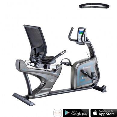 Horizontalus dviratis treniruoklis inSPORTline inCondi R600i PRO (iki 200kg, smagr. 7kg)