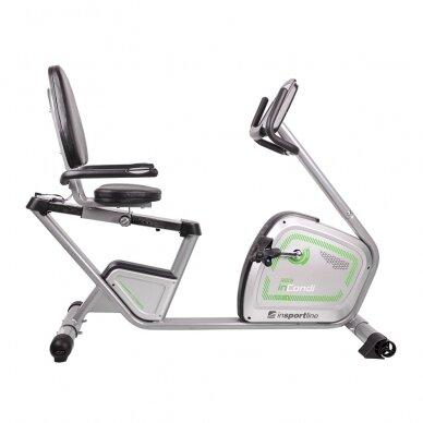 Horizontalus dviratis treniruoklis inSPORTline inCondi R60i (iki 150kg, smagr. 9kg) 2