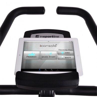Horizontalus dviratis treniruoklis inSPORTline inCondi R60i (iki 150kg, smagr. 9kg) 9