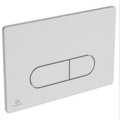 Ideal Standard komplektas: WC rėmas su klavišu, unitazas su dangčiu 6