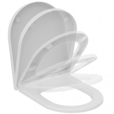 Ideal Standard komplektas: WC rėmas su klavišu, unitazas su dangčiu 4
