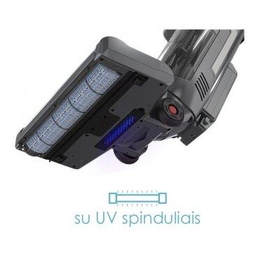 Įkraunamas plaunantis dulkių siurblys Zyle Kaiser su UV spinduliais 7