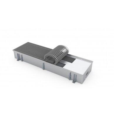 Įleidžiamas grindinis šildymo/vėsinimo konvektorius su vėdinimo pajungimu FCHV 200x36x16 2