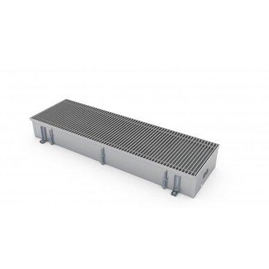 Įleidžiamas grindinis šildymo/vėsinimo konvektorius su vėdinimo pajungimu FCHV 250x36x16 4