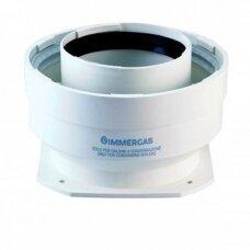 Immergas perėjimas flanšinis kondensaciniam katilui iš d60/100 į d80/125