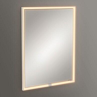 Įmontuojama veidrodinė spintelė Villeroy & Boch My View Now 60 cm