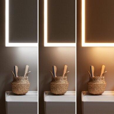 Įmontuojama veidrodinė spintelė Villeroy & Boch My View Now 60 cm 5